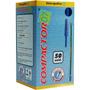 Caneta Compactor 0.7 Azul 50 Und