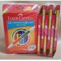 Pac C/ 6 Unid. Canetinha Bicolor Faber Castell - 24 Cores