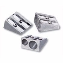Apontador De Metal C/ 2 Furos - Lápis Jumbo E Padrão