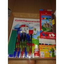 Material Escolar - Kit 21 Itens
