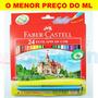 Lápis De Cor Ecolápis Faber-castell 24 Cores + Barato Do Ml