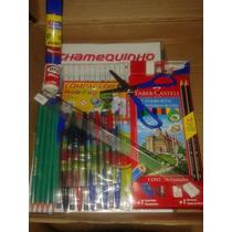 Material Escolar - Kit 24 Itens - Mercado Envios