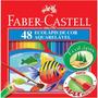 Lápis Cor Faber Castell 48 Cores Aquarelavel Jardim Secreto