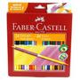 Lapis De Cor Bicolor Faber Castell 24 Lapis 48 Cores Lc004