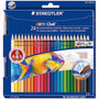 Lapis Aquarelável Staetler Noris Club 24 Cores Com Pincel
