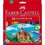 Lápis De Cor Faber Castell Com 24 Unidades