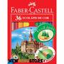 Lapis De Cor Faber Castell 36 Cores - 4 Caixas