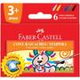 Tinta Guache Lavável 6 Cores - Faber Castell