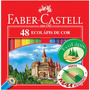 Lápis De Cor Faber Castell 48 Cores Original - Aproveite