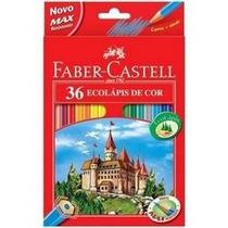 Caixa De Lápis Faber Castell 36 Cores