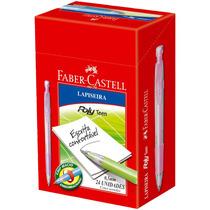 Lapiseira 0,5mm Poly Teen Faber Castell- Caixa C/24