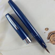 Caneta Tinteiro Sheaffer 330 V Imperial Pena Fina Blue Black