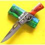 Kit 12 Mini Canivete Automático Com Mini Lanterna