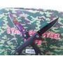 Canivete Tatico Com Cliple Em Aço