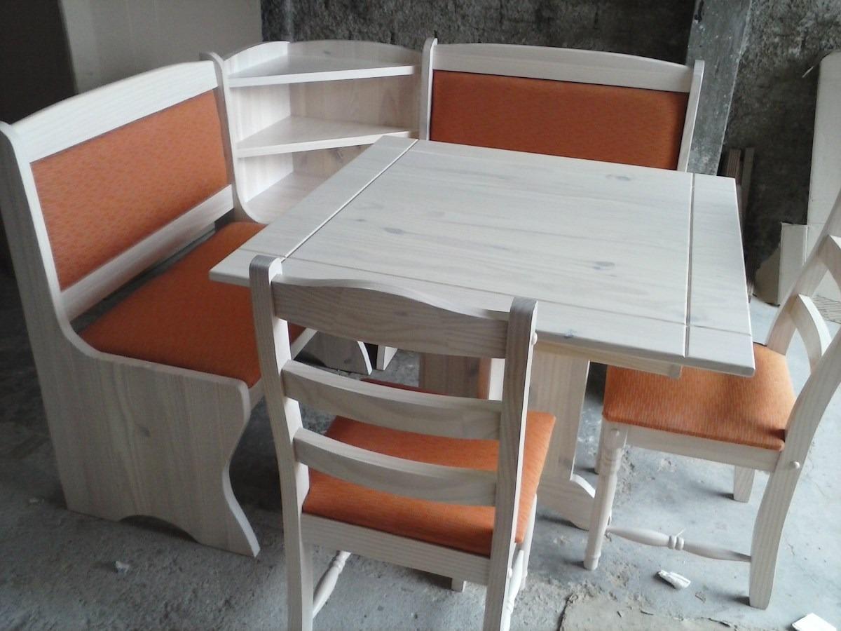 Canto Alemao Mesa Cadeira Banco De Canto;madeira Maciça R$ 2  #6E3E2E 1200x900