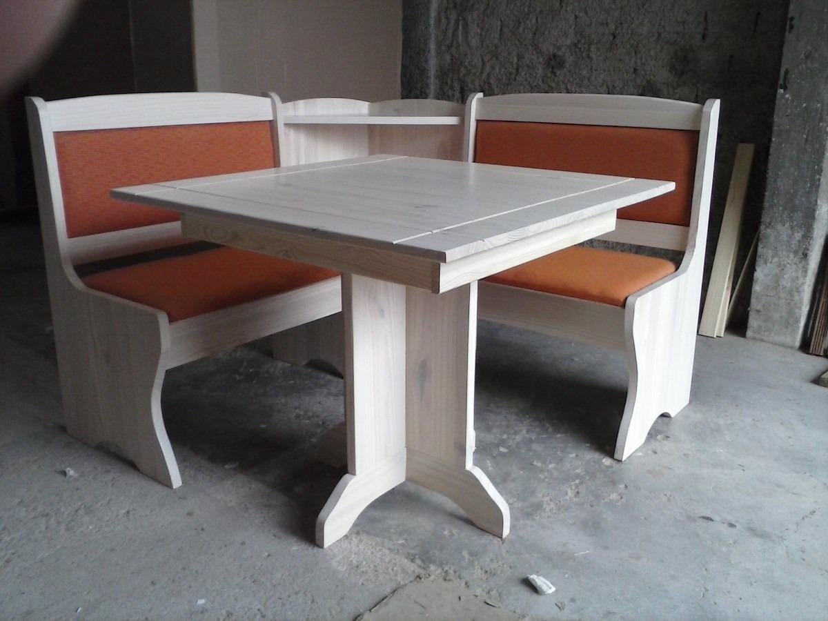 canto alemao mesa cadeira banco de canto;madeira maciça #6B4136 1200x900