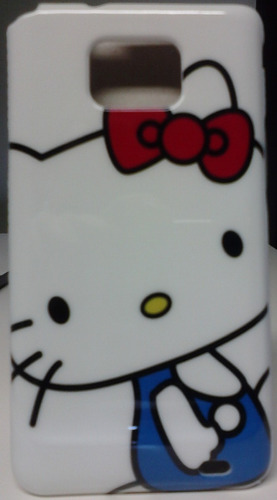 Capa Acrílico Samsung Galaxy S2 I9100 + Pelicula