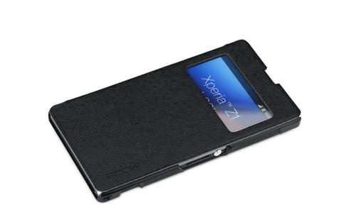 Capa Case Luxo S-view Para Sony Xperia Z1 - Pronta Entrega