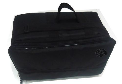 Capa P/ Pedal Duplo Cr Bag Pedal Duplo De Bateria Extra