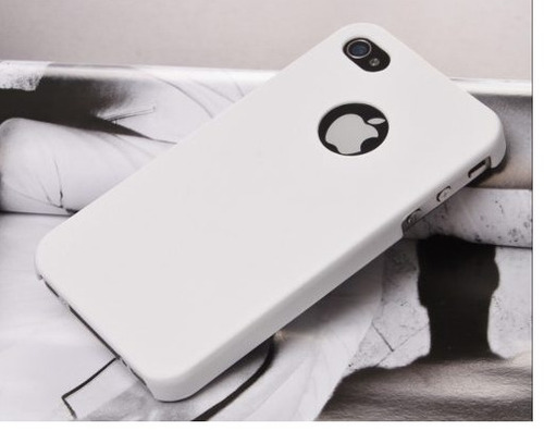 Capa Para Iphone 4s / 4g / 4 - Policarbonato Luxo + Película