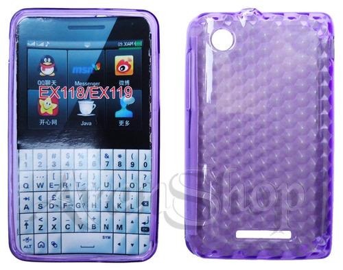 Capa Silicone Tpu Premium Motorola Ex118 Ex119 + Película!