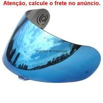 Viseira Espelhada Azul Peels Mach 5 Rt / Spike / X Runner /