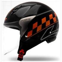 Capacet Ls2 Of559 Cafe Racer Orange