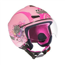 Capacete Feminino Aberto Texx Arsenal New Breeze - Rosa 60