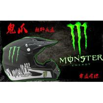 Capacete Monster Trilha/downhill Vários Modelos Frete Grátis