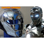 Capacete Iron Man - Cromado - Frete Grátis - Novidade