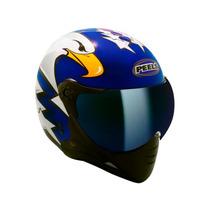 Capacete Peels F21 Eagle Viseira Iridium Azul + Frete Grátis