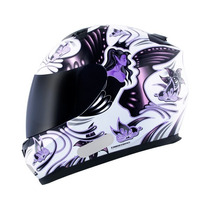 Capacete Mt Blade New Butterfly White/pink ( Bi Composto )