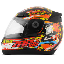 Capacete Moto Liberty Evolution 3g Destroyers Protork Street