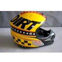 Mt Helmet Capacete P/ Motociclista Yellow Md Troylee Design