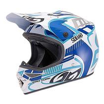 Capacete Pro Tork Squad Equipamento Trilha Motocross+ Brinde