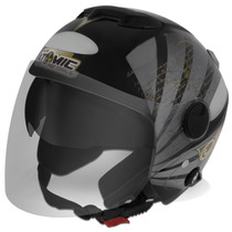 Capacete Gospel Salmo 91 New Atomic Pro Tork Evolution Moto