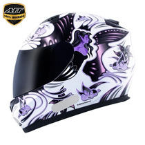 Capacete Mt Blade New Butterfly White/pink 56