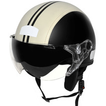 Capacete Aberto Kraft Semi Revest. Custom Harley Drag Shadow