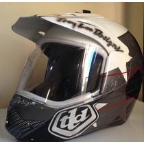 Capacete Troy Lee Designs Dual Sport 3em1 (bieffe)