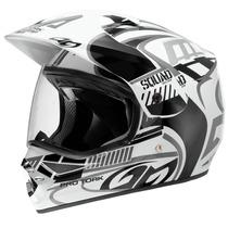 Capacete Motocross/trilha Squad Vision Com Viseira Protork