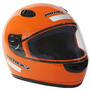 Capacete Motosky Basic Motoqueiro Laranja C/ Viseira Tam: 58