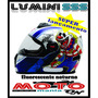 Capacete Evolution Luminosense Sss 317 Fluorescente A Noite