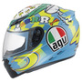 Capacete Agv K3 Wake Up Valentino Rossi Azul - 55/56 Rs1