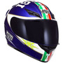 Capacete Agv K3 Mugello 03 Valentino Rossi Azul 55/56 Rs1