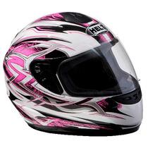 Capacete Helt Race Rosa - Tam 56