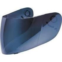 Viseira Azul Iridium Espelhada P/ Capacete Helt Elite Cobra