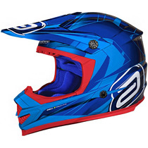 Capacete Asw Podium Nirvana Off Road - Azul tam: 62