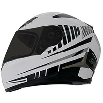 Capacete Nasa Sh-712 Speed Racing Branco 57/58 Rs1