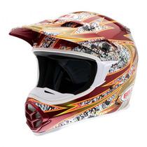Capacete Bell Mx-2 Revolt Motocross Motoclista Moto