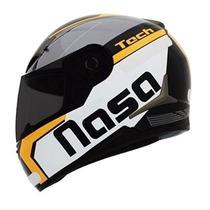 Capacete Nasa Sh-712 Tech Laranja Mod Novo Não Ls2/norisk
